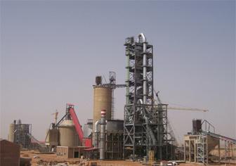 苏丹Alsalam2500t/d熟料水泥生产线项目