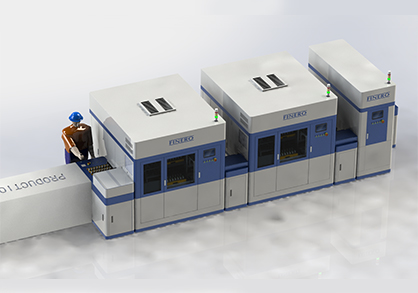 Charger automation aging line