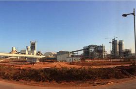 坦桑尼亚DANGOTE 6000t/d熟料水泥生产线承包项目