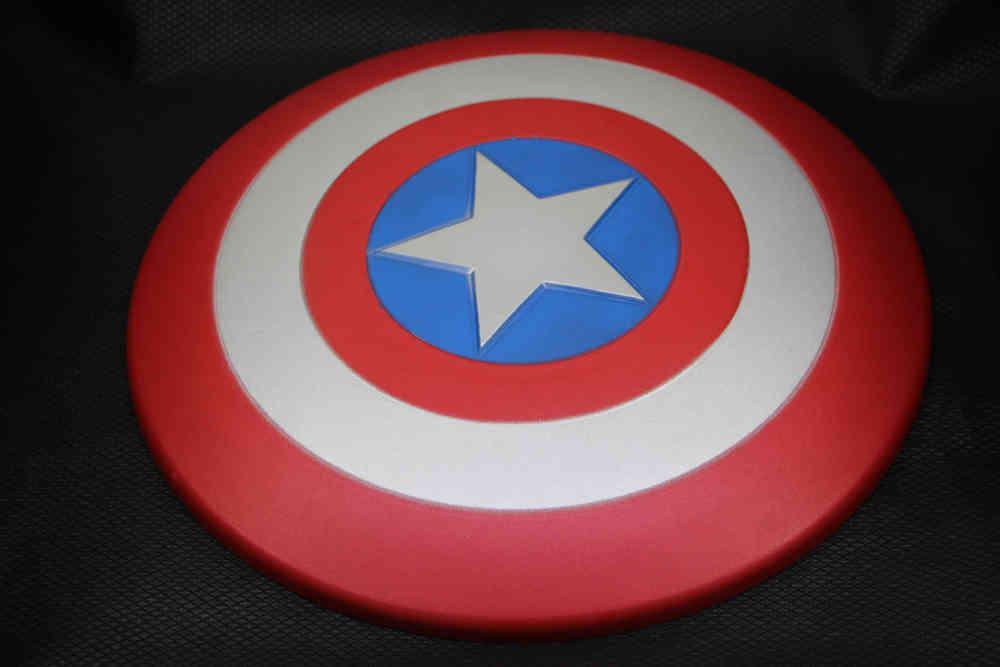 EVA泡沫材质儿童玩具动漫COS道具美国队长盾牌