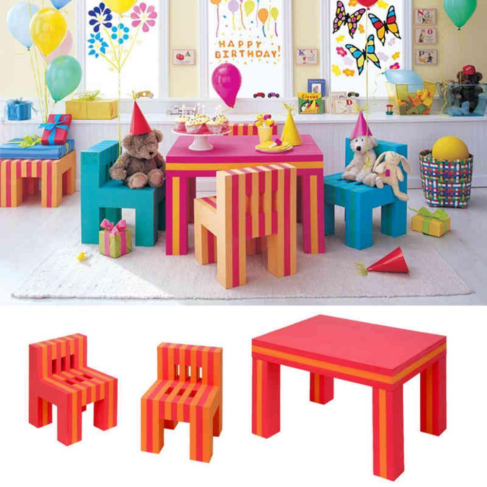 EVA泡沫儿童桌椅