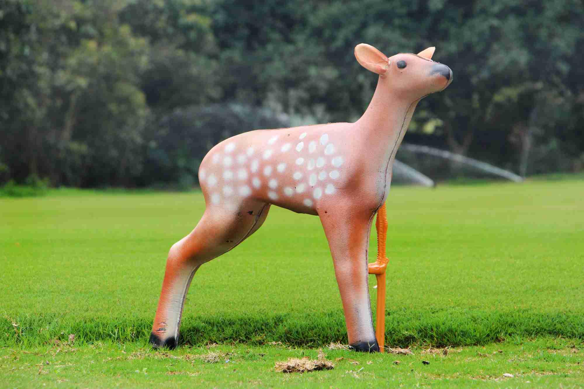 XPE动物射箭箭靶梅花鹿