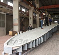 25米风电叶片模具三维测量