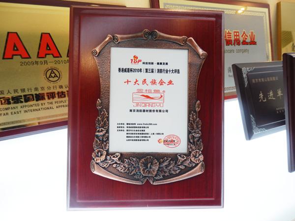 香港威盾杯十大民族企业