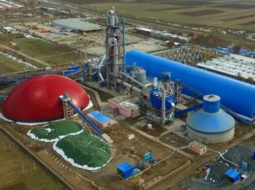 塔吉克斯坦莫伊尔日产3200吨水泥熟料生产线总承包项目