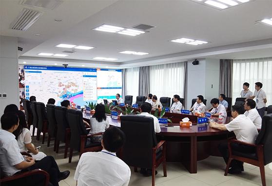 """""""广西乐虎国际pt官方网项目""""为各级领导人汇报工作。"""