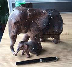 东南亚大象木雕三维扫描