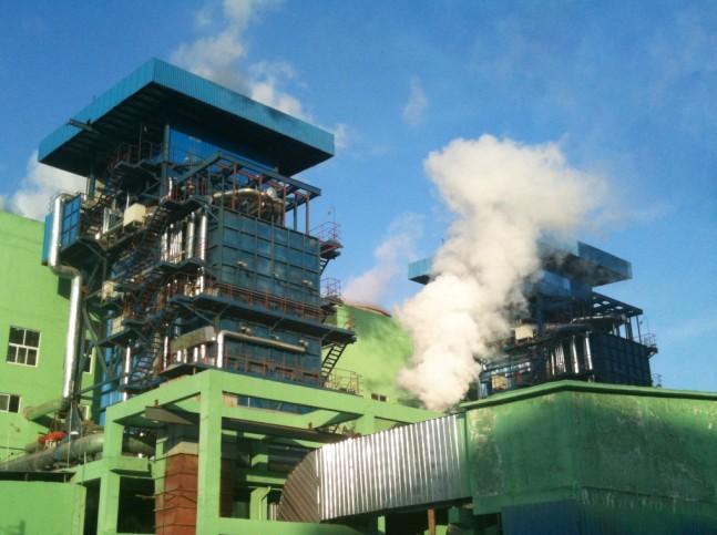 河北钢铁3X50MW煤气发电工程