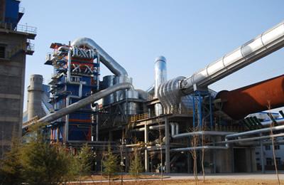 西北水泥日产5000t余热发电