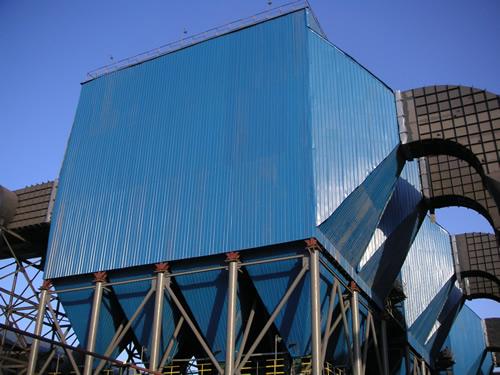 九江线材240m²双室四电场静电除尘器