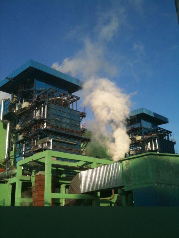 50000立方煤气柜及发电机组