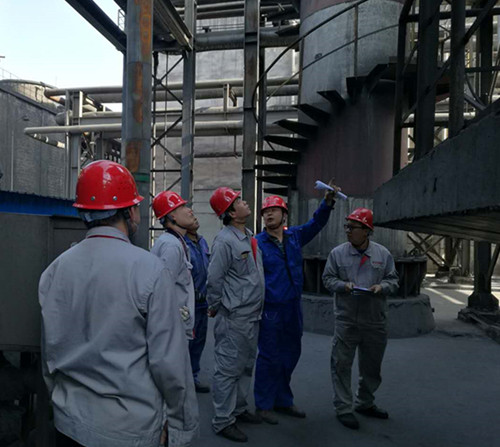 Jiayuguan Aofu organization to carry out safety special inspection