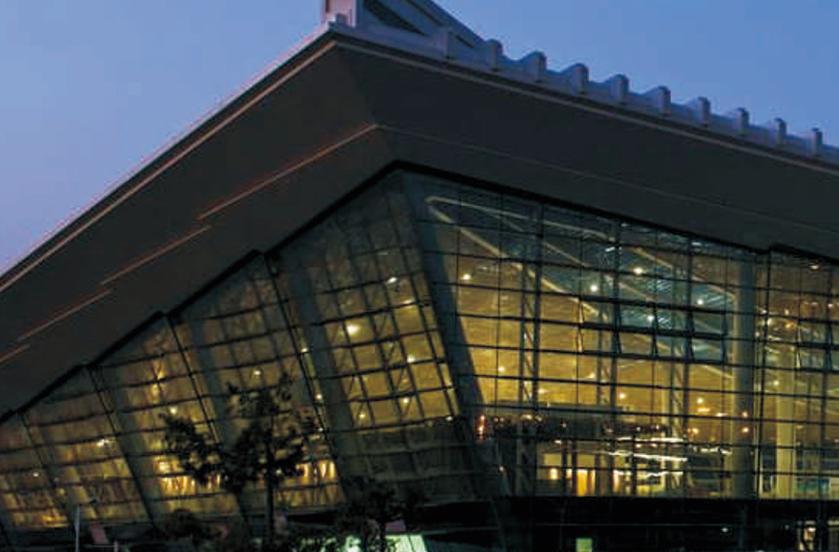 厦门机场项目