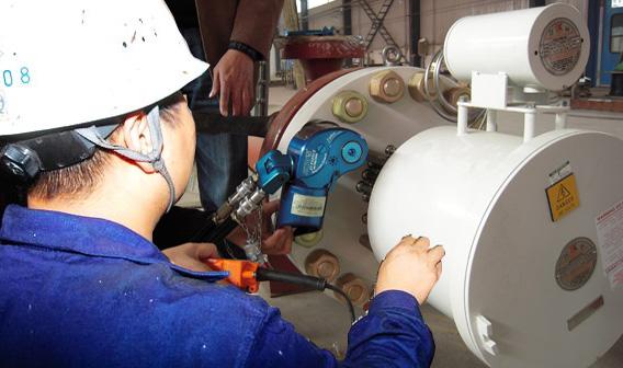 BAIER液压扳手承接西气东输二线嘉峪关加压站螺栓紧固工作