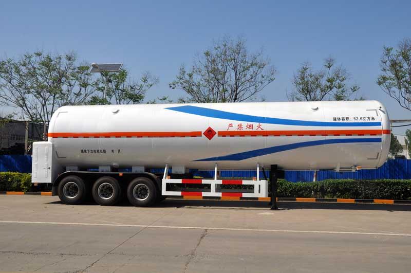 52.6m³LNG卸液净槽车