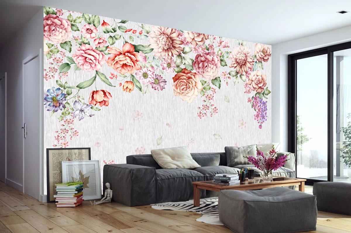 复古花卉壁画FG07