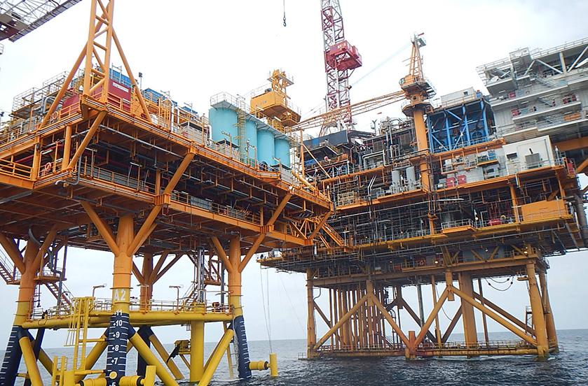 海洋钻井石油平台