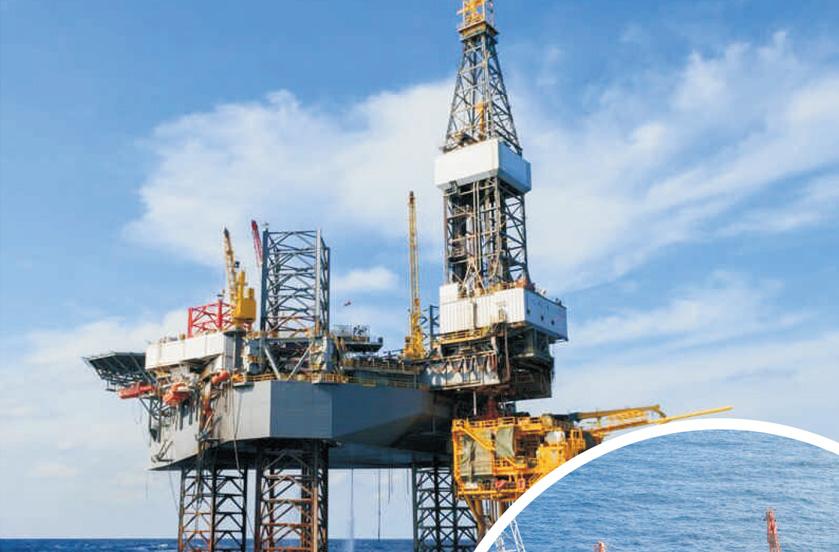 海上钻井石油平台