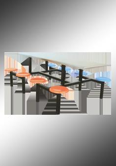 八座餐桌椅