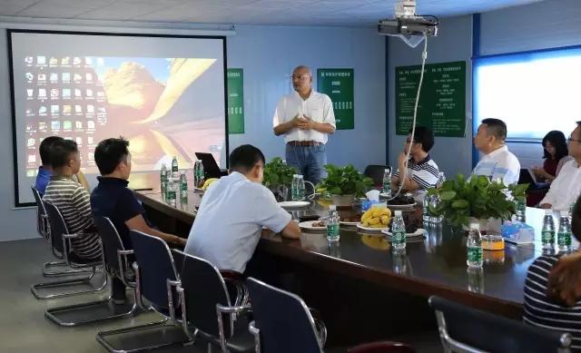 深圳市进出口食品商会参观海格零售物流中心