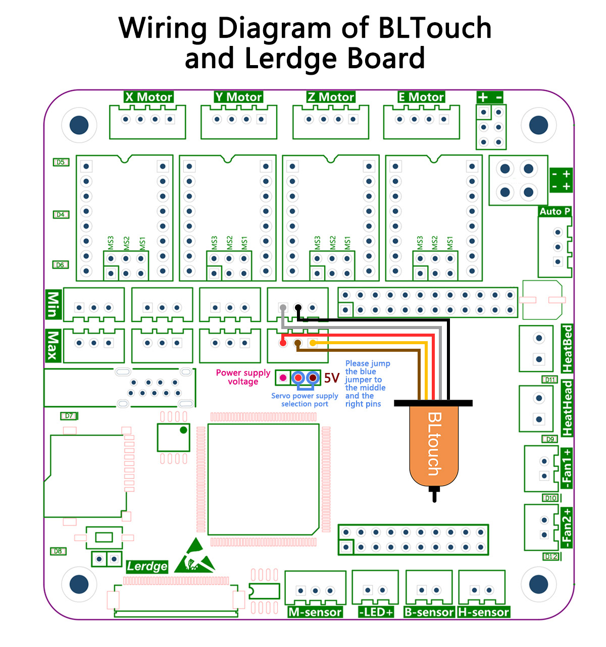 Lerdge Board Auto Leveling Instructions The Tutorials Capacitance Proximity Switch Circuit