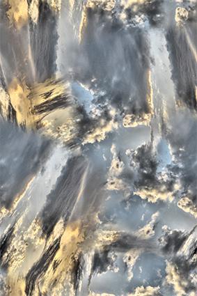 乌云密布色彩斑斓