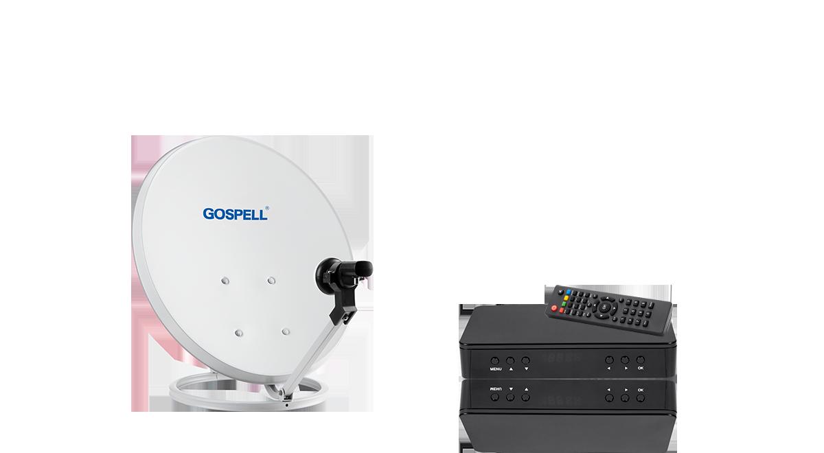 C波段/Ku波段卫星高频头,4K超高清卫星电视接收机/地面波电视接收机