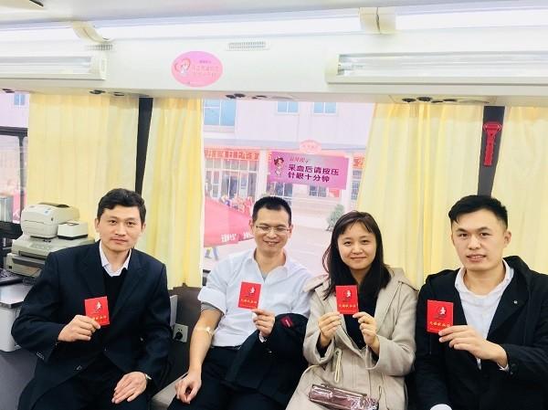中国中铁工业磁浮团委开展青年志愿无偿献血活动
