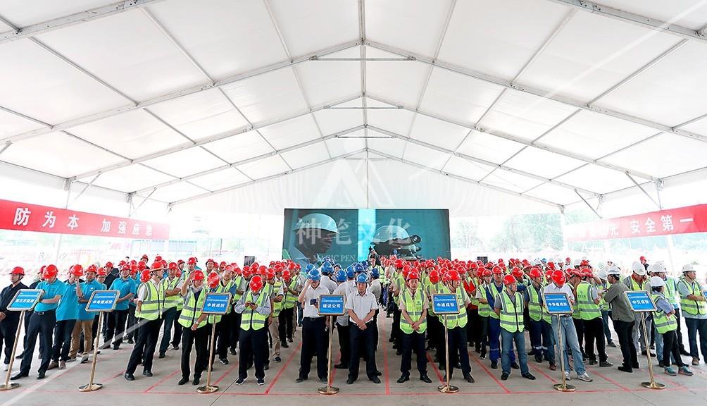 2018年成都轨道交通建设工程防汛应急演练