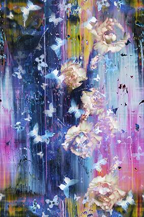 绚丽色彩图饰花卉