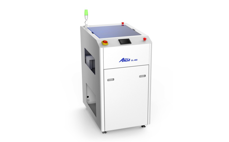 UL-460W Automatic flip machine