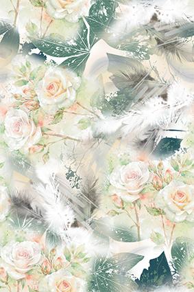 清新淡雅植物花卉