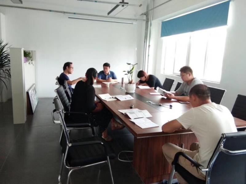 拜尔技术人员给山东大型地炼企业培训,赢得客户好感!