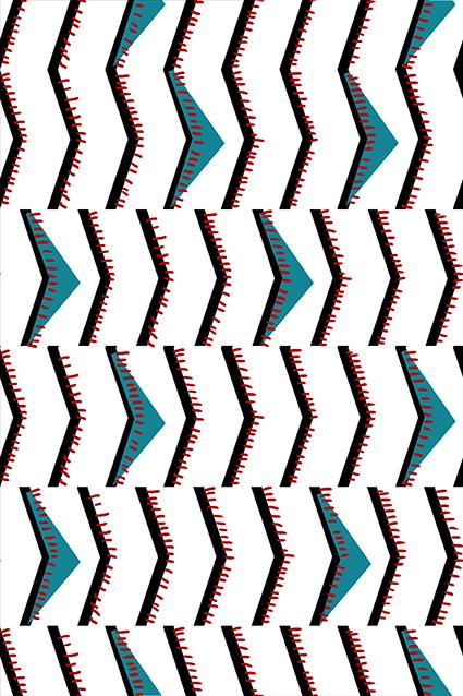 矢量纹理直角几何图