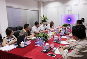 中国商飞领导及专家莅临远光广安考察与交流