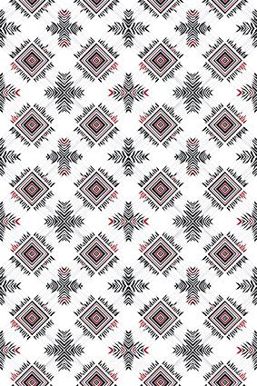 色块棱角几何图饰