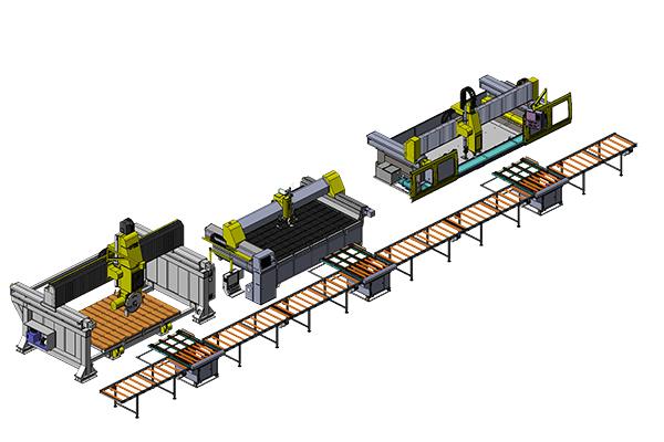 全自动台面板生产线(B)