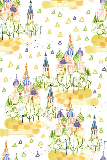 春暖花开美丽城堡风景