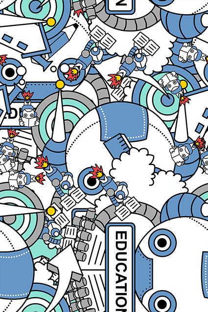 卡通机械零件图形