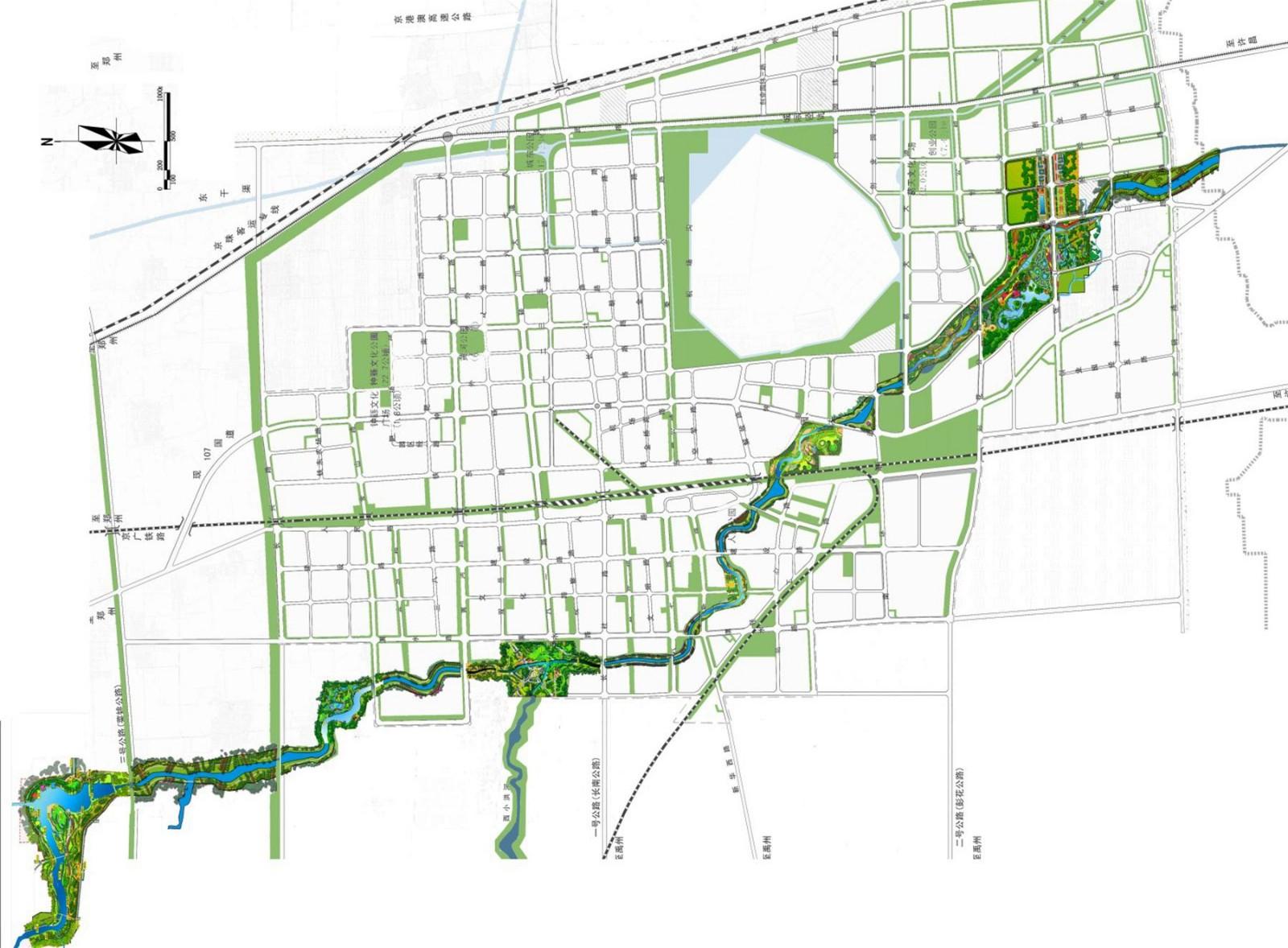 大型市政景观的合作与设计实践