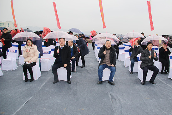 安徽乐虎国际登陆智能物流设备有限公司 开工仪式盛大启幕!