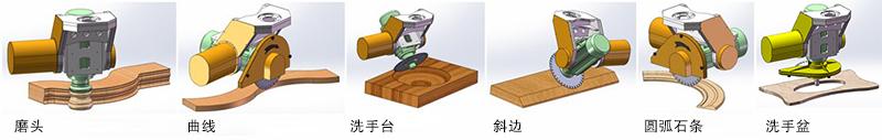 YD-3020五轴桥式切割机(标准型)