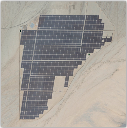 Huaming in Desert Sunlight Solar Farm Project, USA
