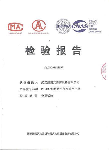 PCL检测报告