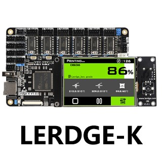 Lerdge-K Motherboard Basic Wiring Instructions