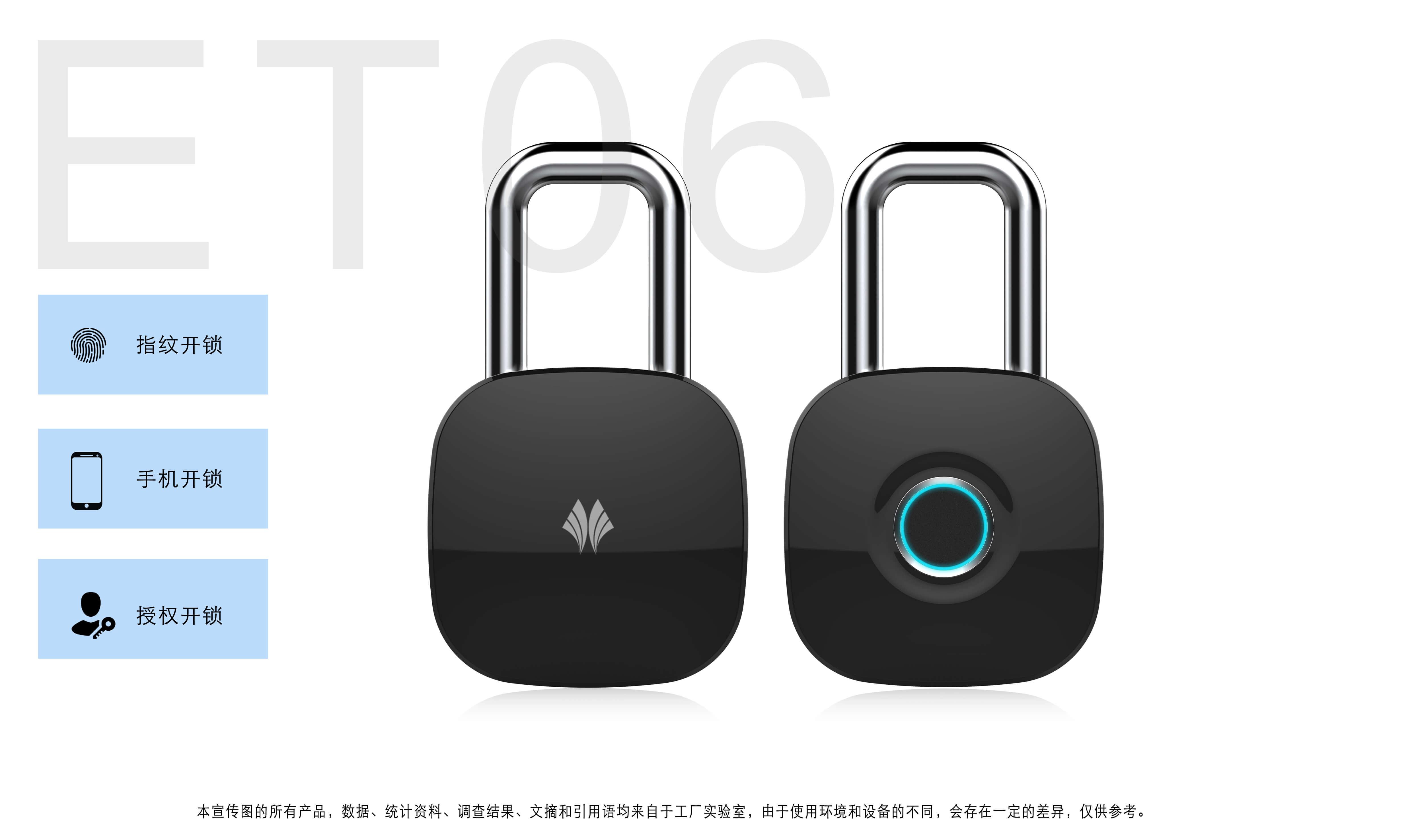 Intelligent Fingerprint Padlock