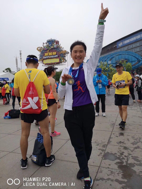 我拜尔集团职工积极投身武汉马拉松赛事