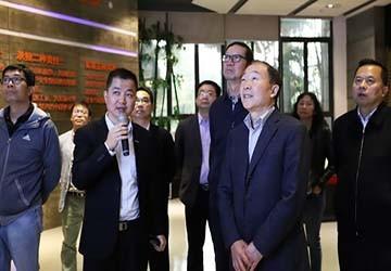 国家应急管理部研究中心主任薛迎东一行莅临科莱调研