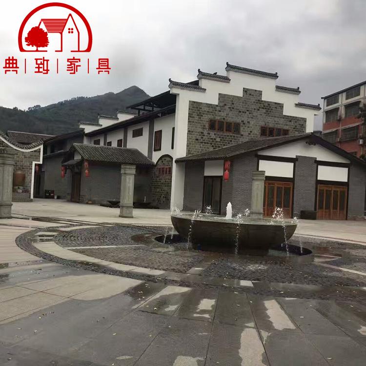 贵州茅台镇特色景区木屋