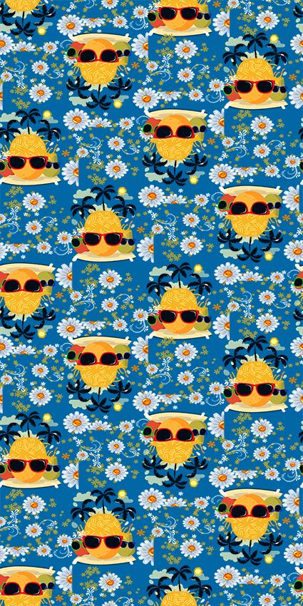 阳光休闲水果眼镜